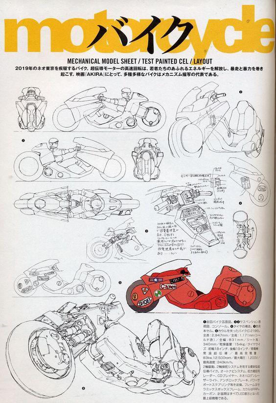Akira Mechanix Kanedas Motorad