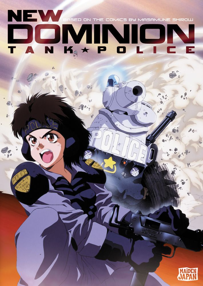 New Dominion Tank Police Cover