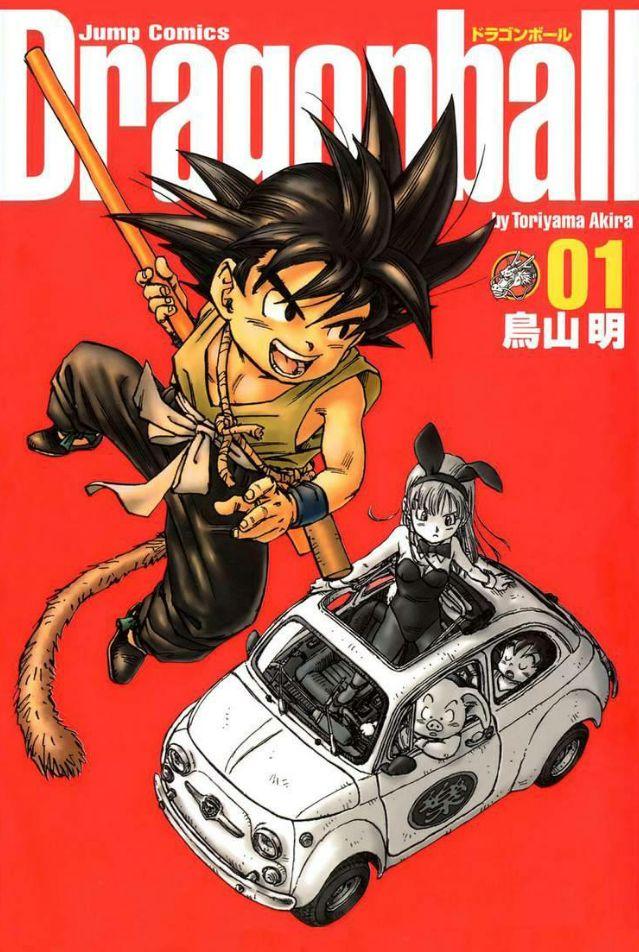 Dragon Ball Cover