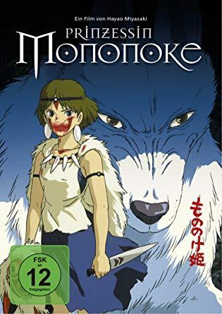Prinzessin Mononoke Cover