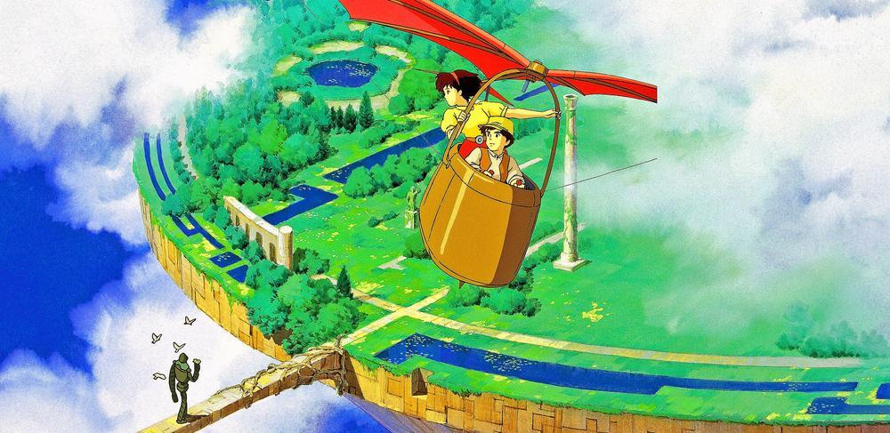 Das Schloss im Himmel Screenshot